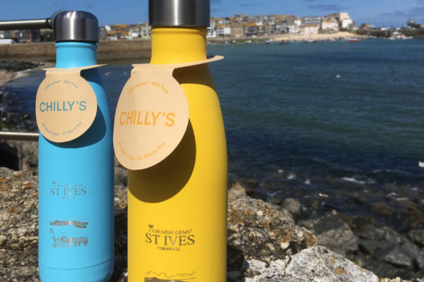 St Ives Cornwall Chilly's Bottle