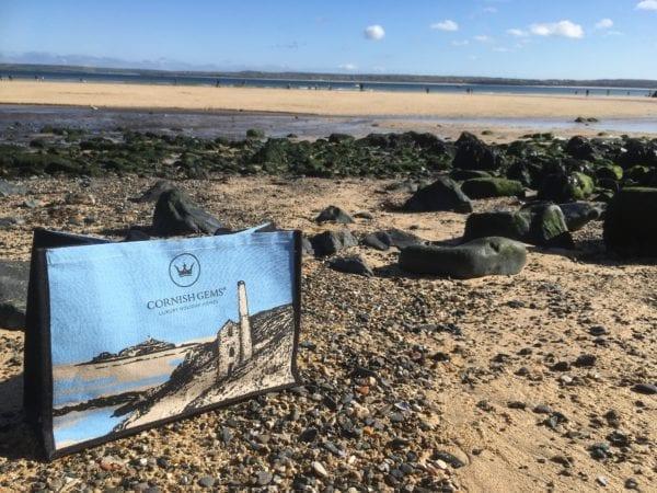 Cornish Gems Jute Bag