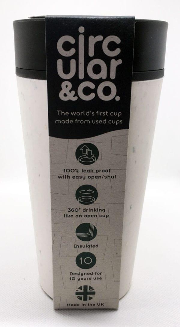 Circular Cup Black