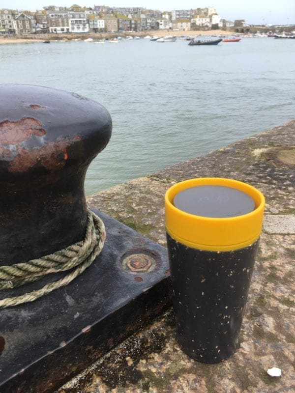 Circular Cup Mustard
