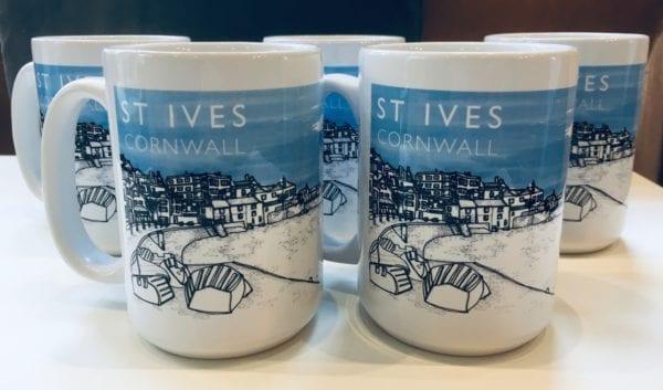 St Ives Cornwall Gift Mugs
