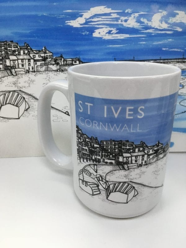 St Ives Cornwall Mug Artwork