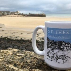 St Ives Cornwall Souvenir Mug