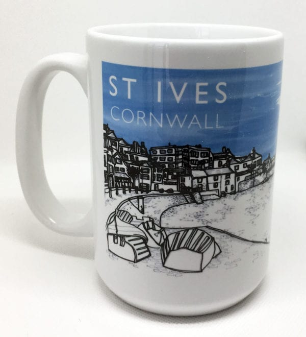 St Ives souvenir mug