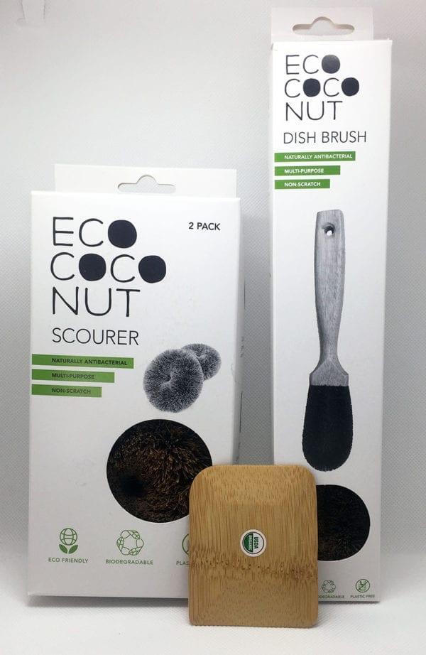 dish brush scourer