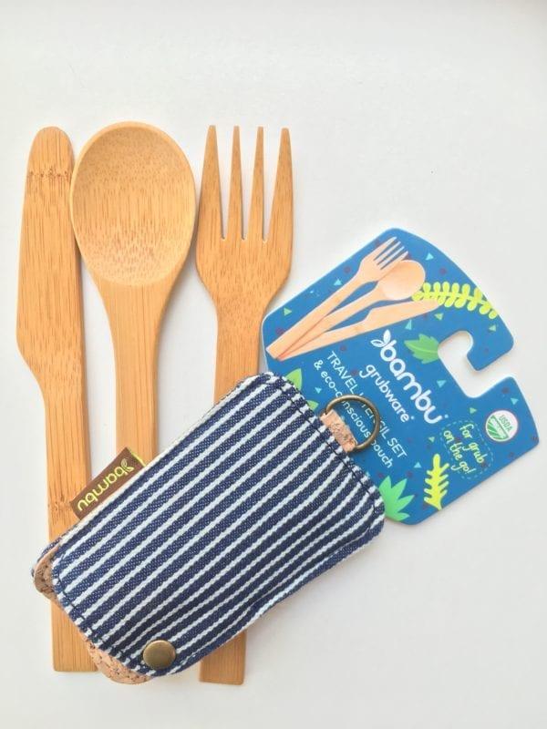 Bambu travel cutlery