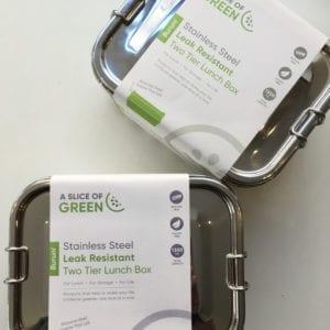 A Slice of Green Buruni Lunchbox