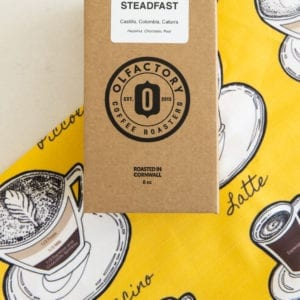 Steadfast Coffee Tea Towel