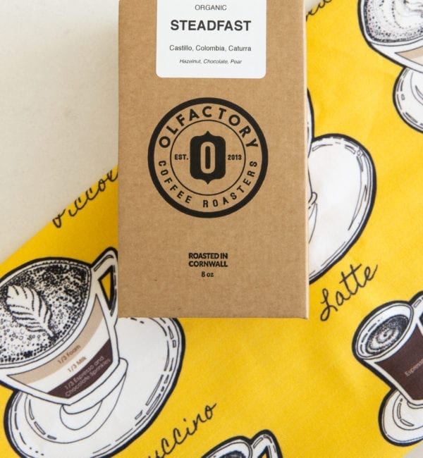 Steadfast Coffee Tea Towel