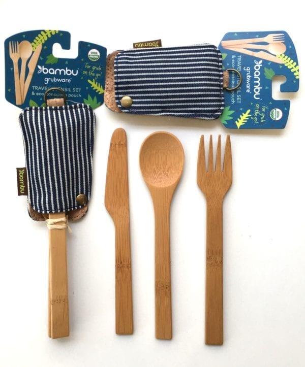 Bambu 3 piece cutlery