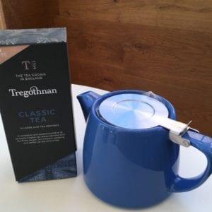 Stump Teapot Tregothnan Tea