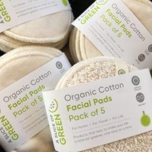 organic cotton face pads