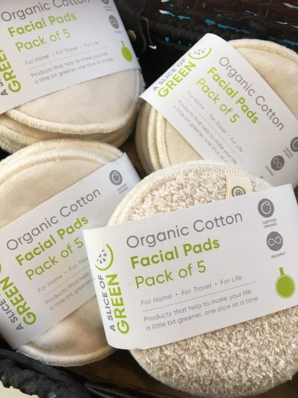 organic cotton face pads