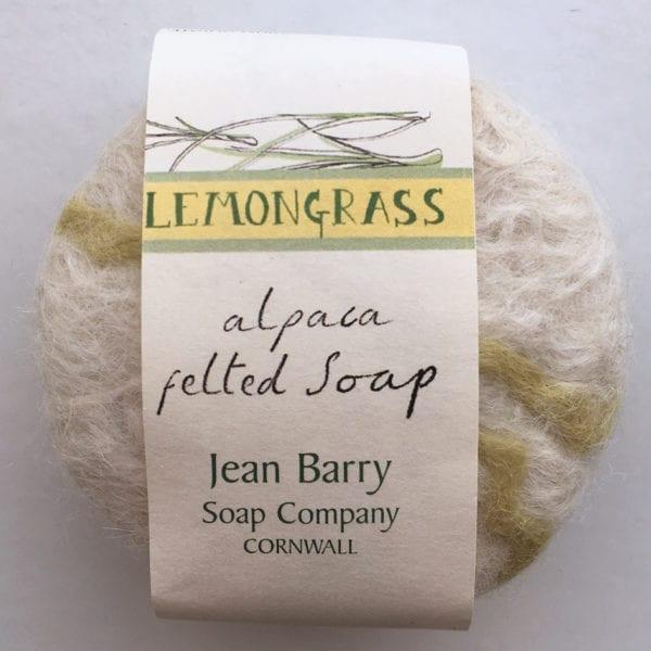 Lemongrass Felted Soap