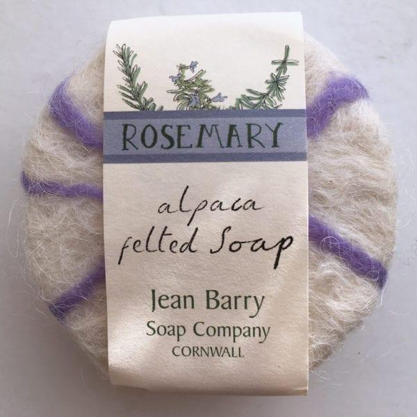 Rosemary Felted Soap