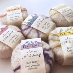 Cornish Alpaca Felted Soaps