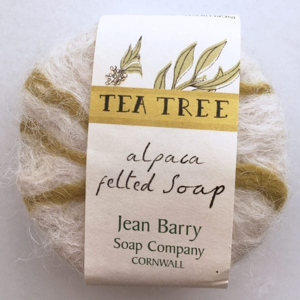 TeaTree Felted Soap