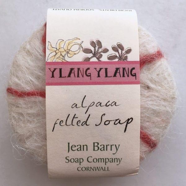 Ylang Ylang Felted Soap