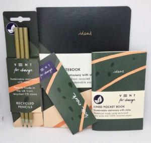 Green Stationery Bundle