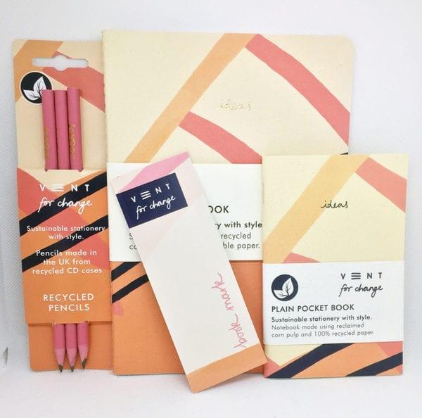 Peach Stationery Bundle